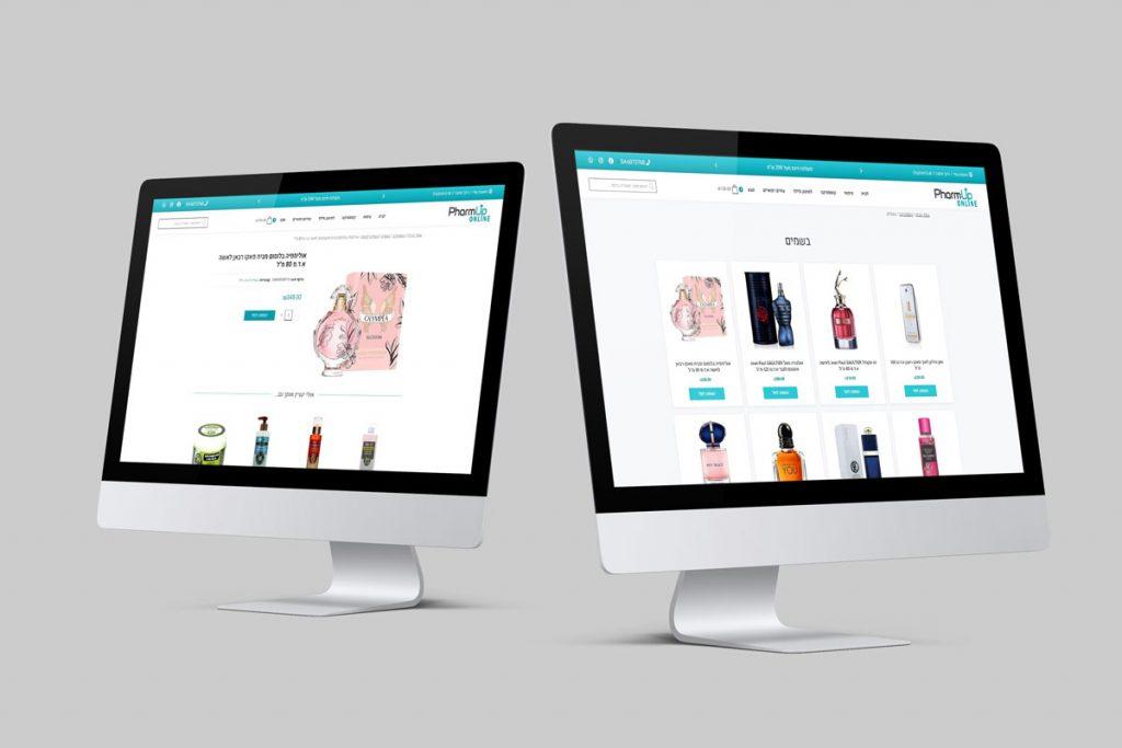 בניית חנות - דף מוצר ודף מוצרים